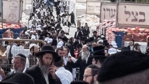 Pessah at Mea Shearim-15