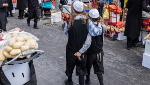 Pessah at Mea Shearim-8