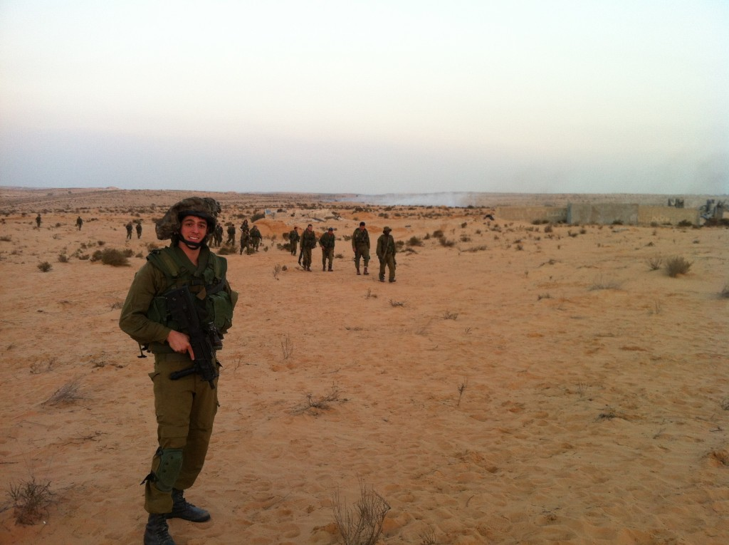 Training for Gaza during Operation Pillar Of Defense