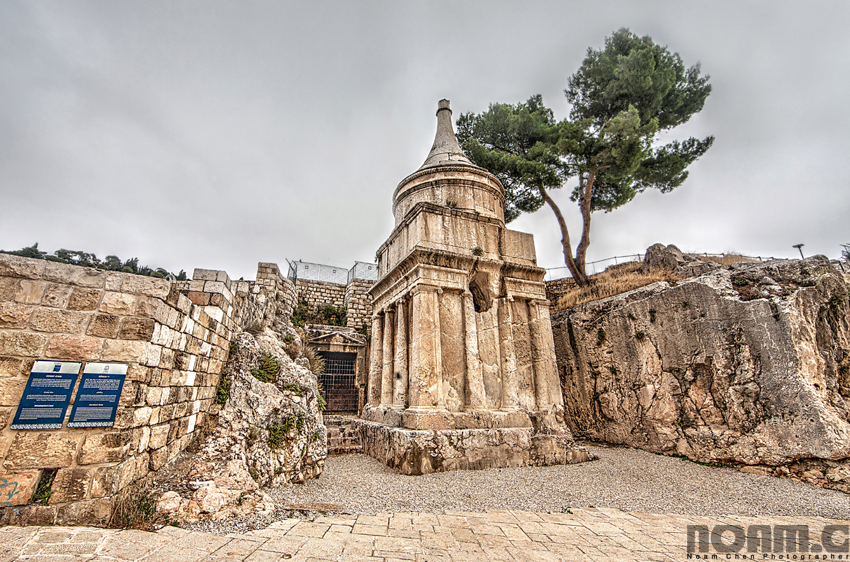 tomb-of-absalom-kidron-valley