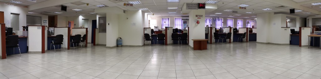Customs Office Waiting Room