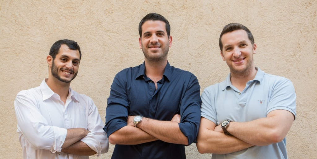 (R-L) Com.unity Co-founders David Saidon and Asaf Elovic, and General Operations Manager, Nofar Albarak.