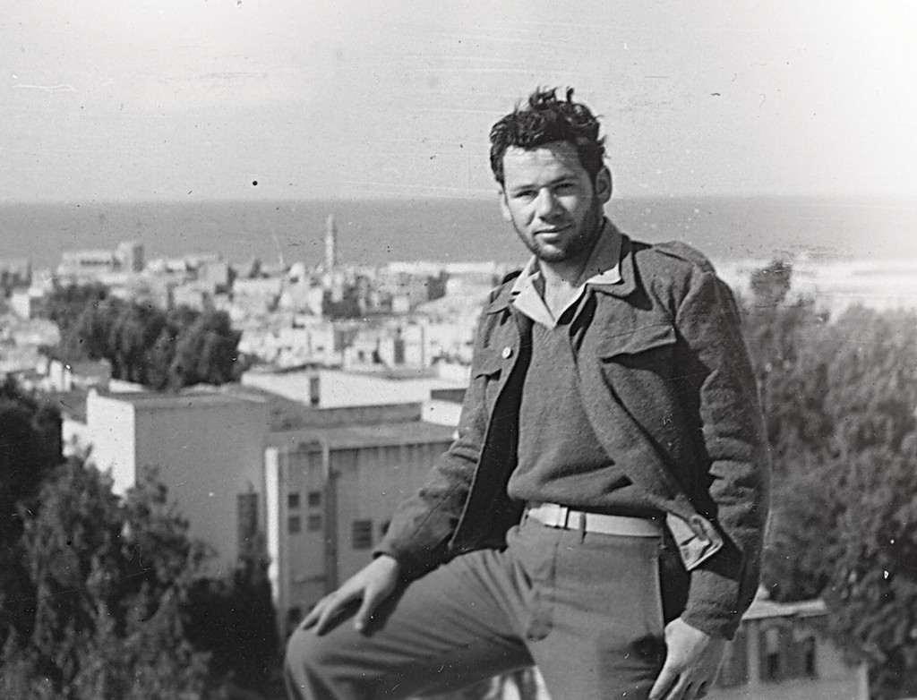Tom Tugend during his time volunteering for Israel's War of Independence in 1948. (JTA courtesy photo)