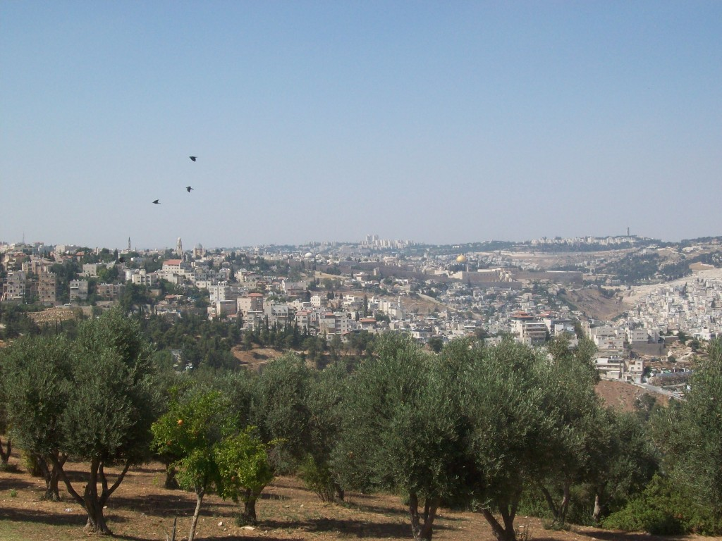 View from the Armon HaNetsiv Tayelet.