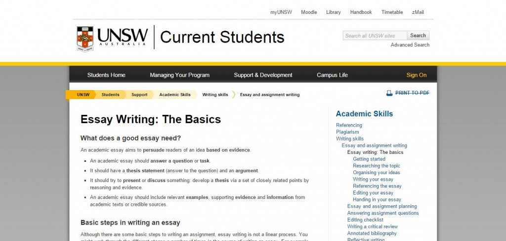 Writing Services Iu