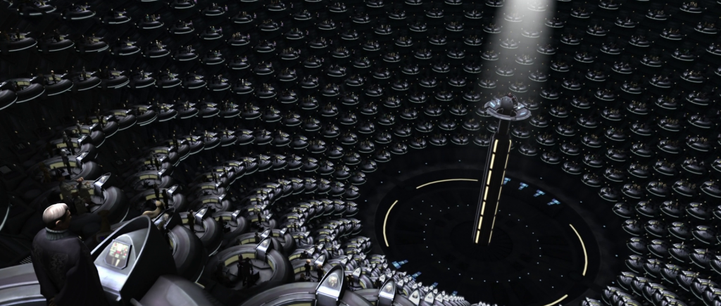 Galactic Senate from Star Wars II: Attack of the Clones