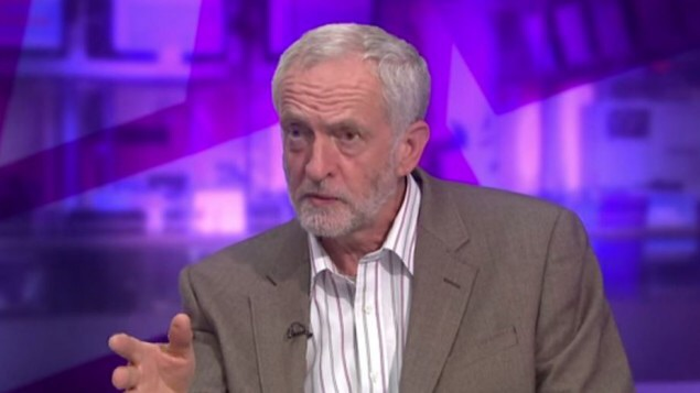 UK Labour Party leadership candidate Jeremy Corbyn  talking about his terrorist 'friends' to the BBC, 15 July 2015
