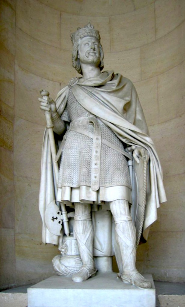 Statue of Charles Martel at the Chateau Versaille.