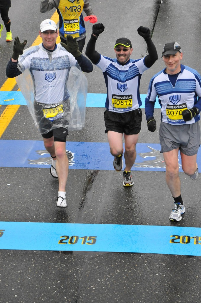 Crossing the Half-Marathon Mark 2015