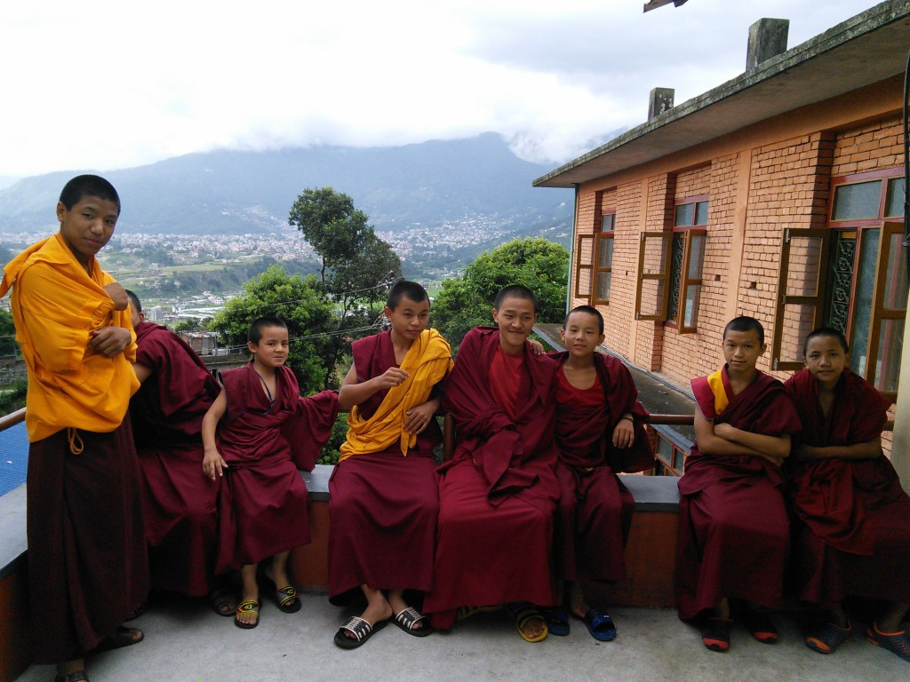 Monks Taking a Break