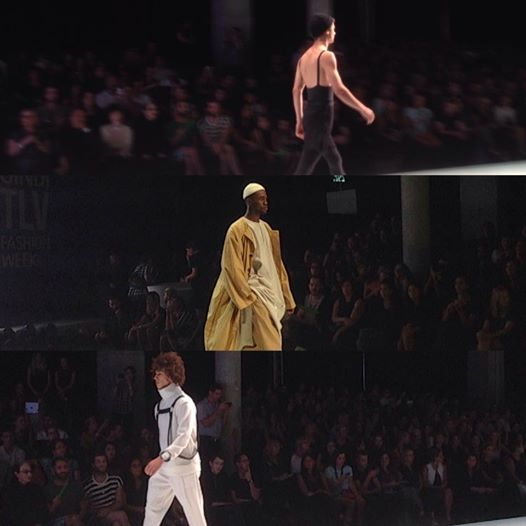 "Pieces from he ""New Designers"" collections at Gindi Tel Aviv Fashion Week (Simone Somekh)"