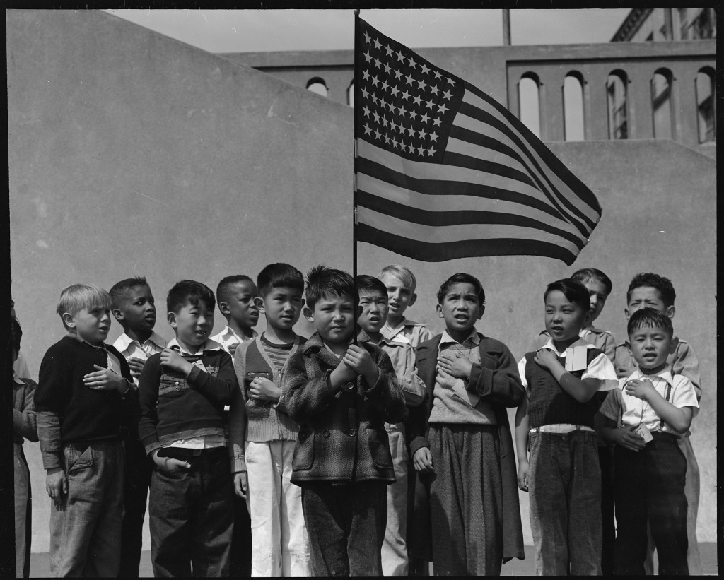 The Pledge of Allegiance was created when the country was at its most divided. Source: Wikimedia Commons.