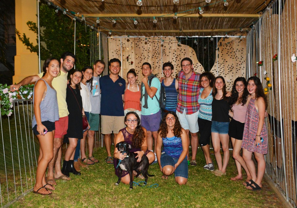 Ramah alumni at Tulane University, Sukkot