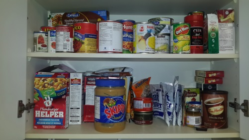 almost home food cupboard