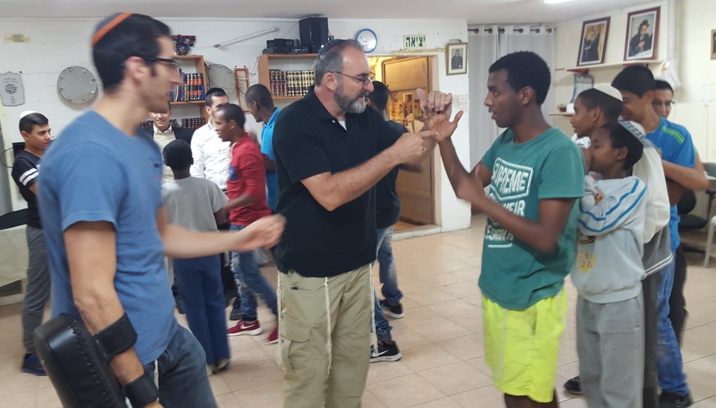 Training At-Risk-Youth in Ashkelon