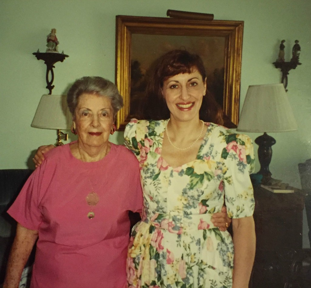Mom with Grandma Lucille Zimmerman in her Winter Park, Florida home. (courtesy)