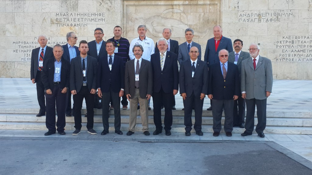 fig 3. International Commissioners - Greek Parliment