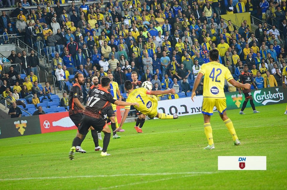 Eran Zahavi, Maccabi Tel Aviv Captain-Sports Rabbi Dov Halickman Photography