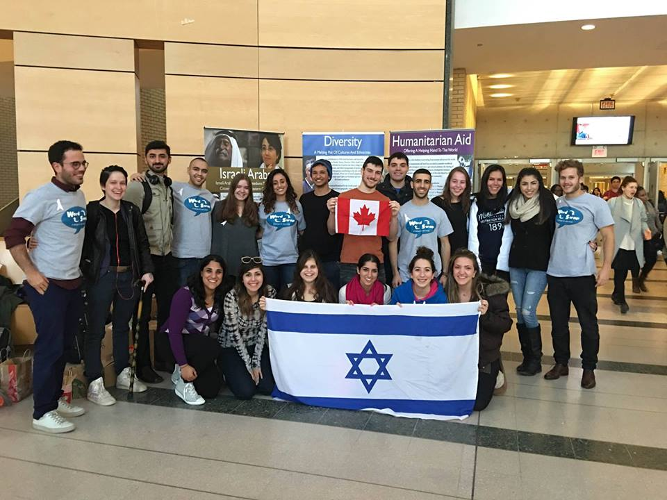 Hosting Wordswap at York University, November 19th, 2015. photo: Hasbara York