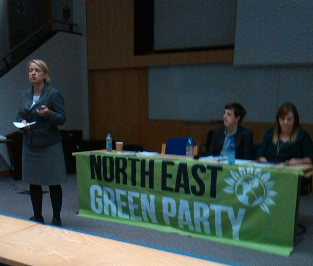Natalie Bennett of the Green Party is another such leader whose stated policies provide anti-semitism with the oxygen it needs in our society.