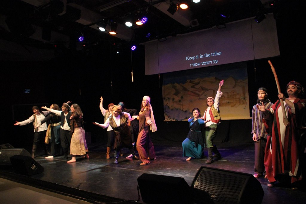 Cast of Sisters! The Daughters of Tzelofchad (Photo credit: Laura Ben-David)