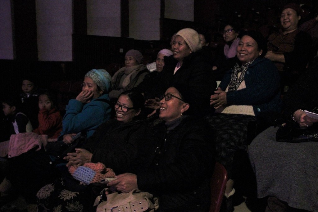 Bnei Menashe ladies enjoying the show! (Photo credit: Laura Ben-David)