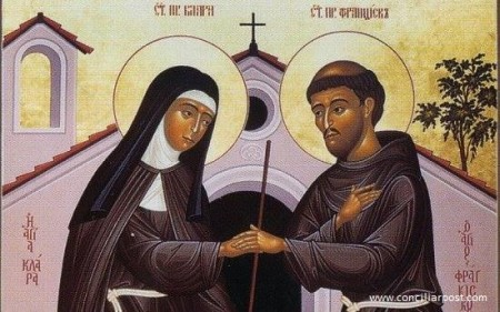 St. Francis of Assisi and St. Clare