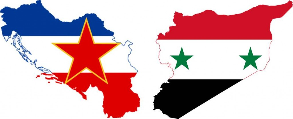 'Yugoslavia' and 'Syria': different flags, similar problem