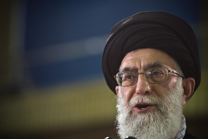 Ayatollah Ali Khamenei Iran's supreme leader-photo Wikipedia
