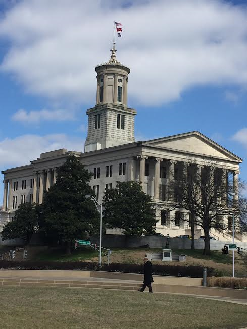 Tennessee Capitol Building-Photo Nurit Greenger