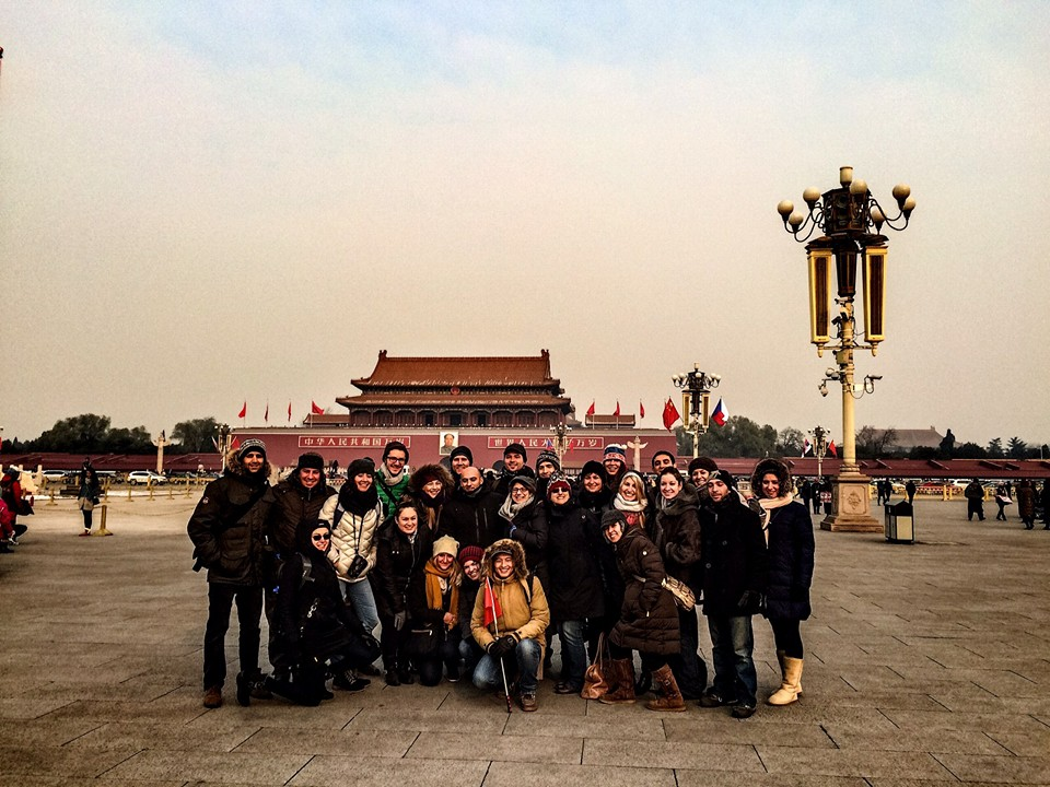Participants in JDC Entwine's Russian Speaking Jewish initiative in China. (Credit: JDC Entwine)