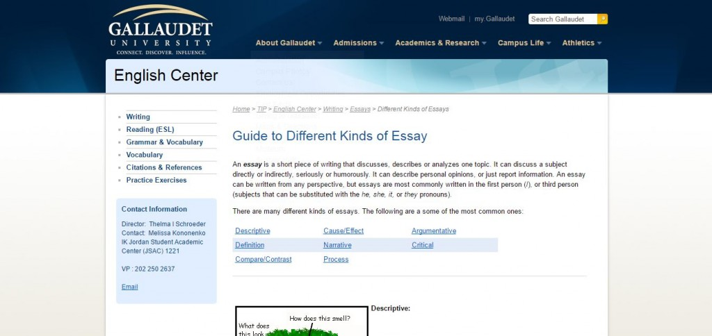 Meaning and kinds of essay