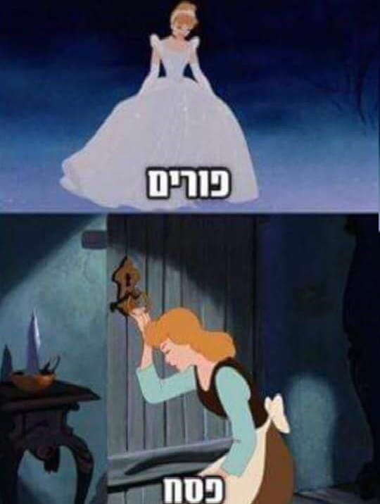 Image result for purim pesach cinderella