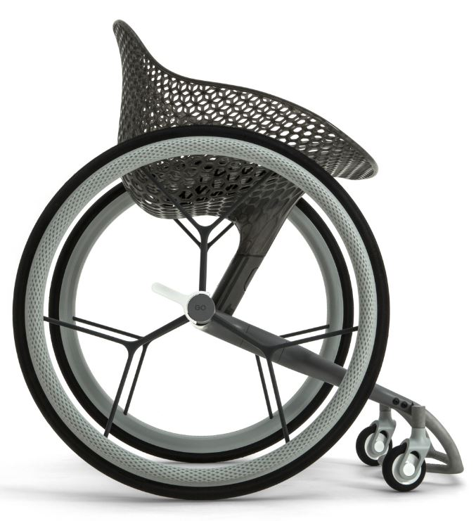 3D printed wheelchair