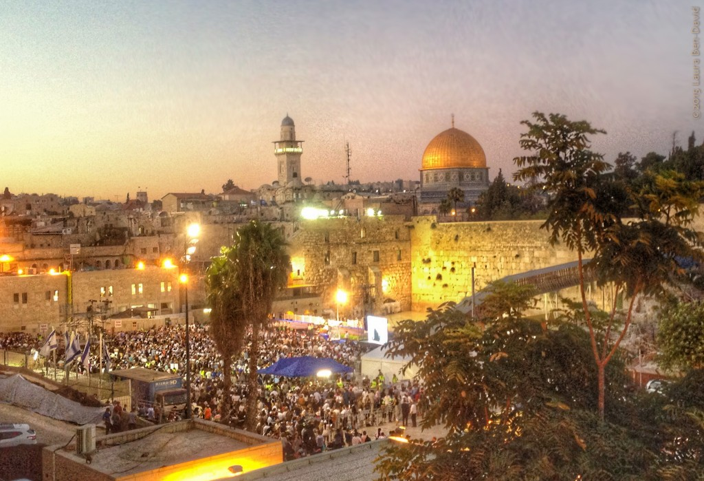 Our beautiful Jerusalem. Photo credit: Laura Ben-David