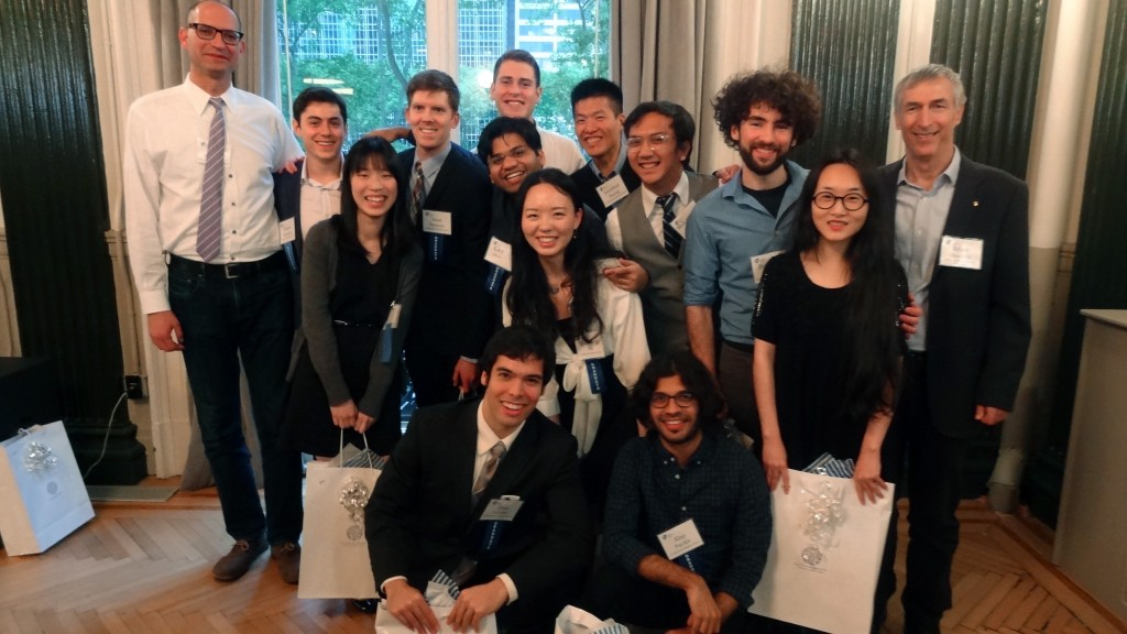 Inaugural graduating class of the Jacobs Technion-Cornell Institute