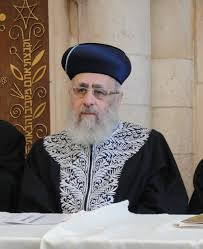 chief rabbi yitzhak yosef