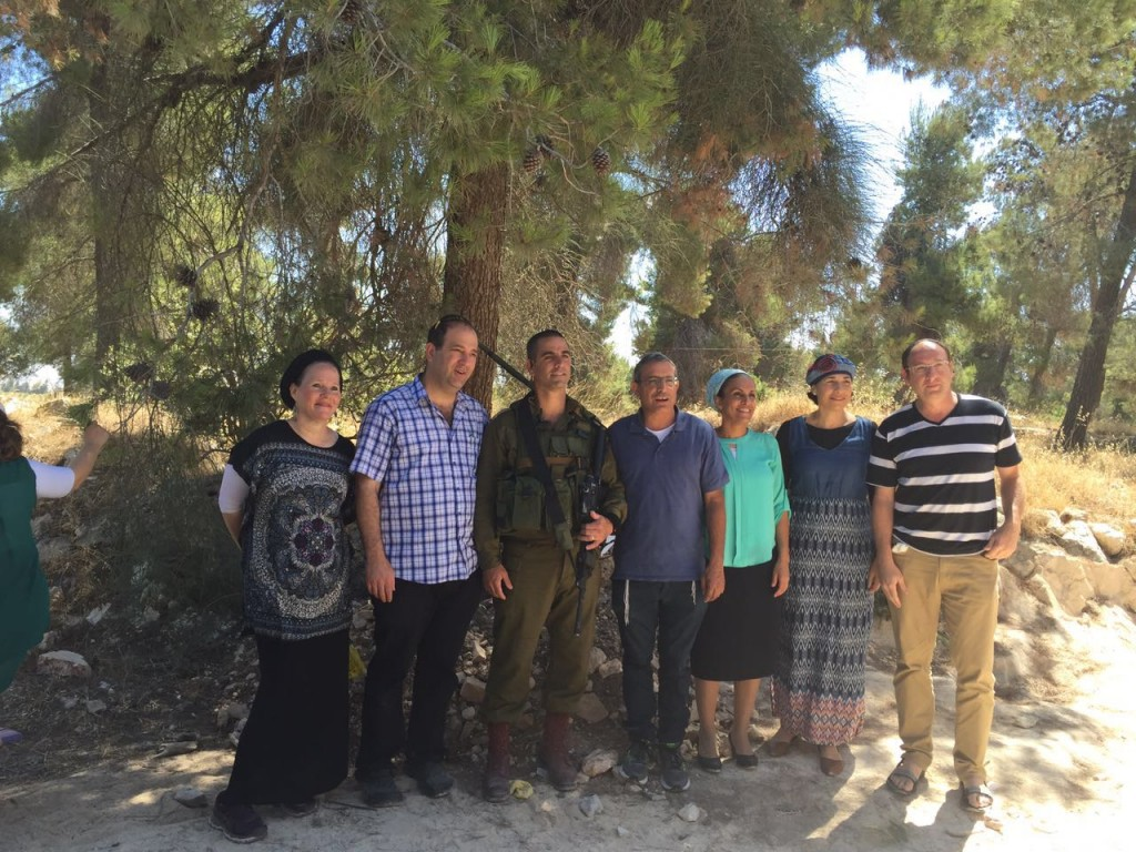 The parents of Eyal, Gilad and Naftaly and the celebration at Oz V'Gaon