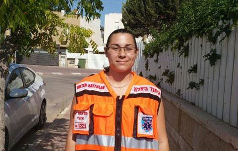 Revital Curiel - Paramedic, regional paramedic in charge of the  Negev and EMS course instructor