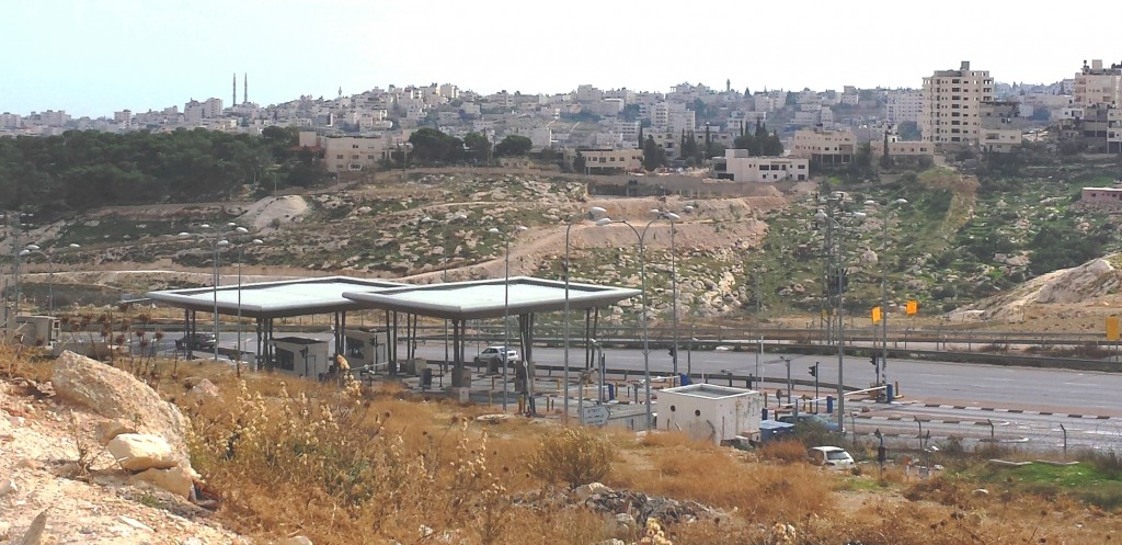 Checkpoint near Jerusalem, Nov. 2015