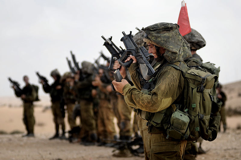 IDF soldiers during a training exercise (photo credit: Israel Defense Forces: CC BY-SA 2.0 via Wikimedia Commons