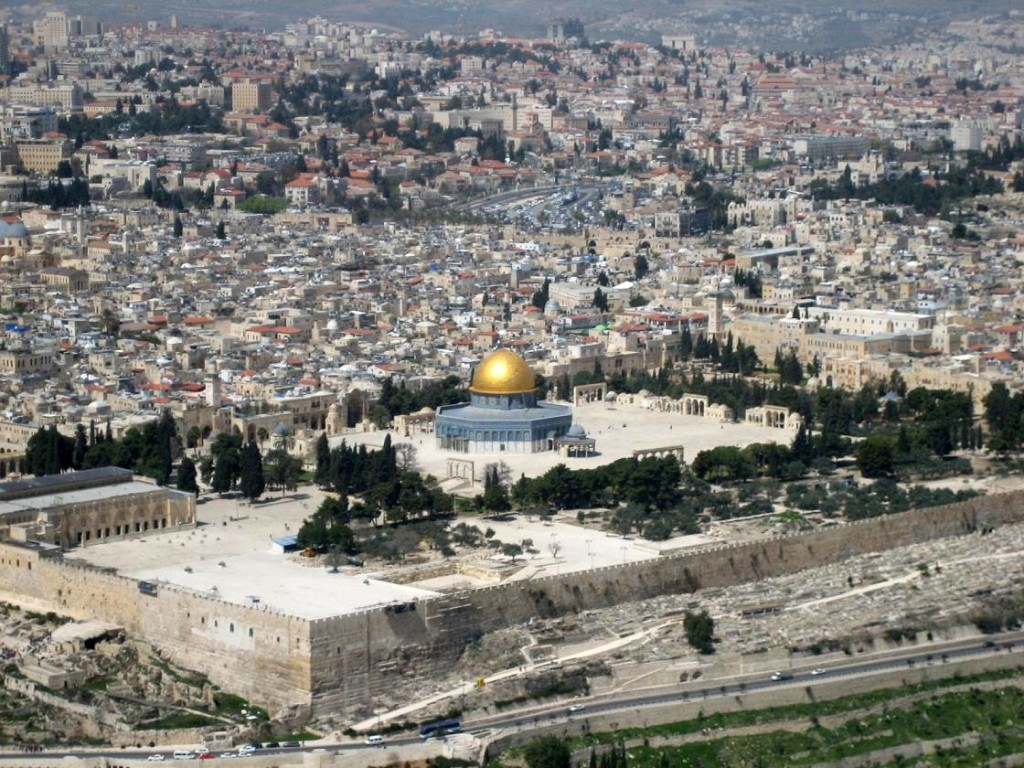 Temple Mount aerial view