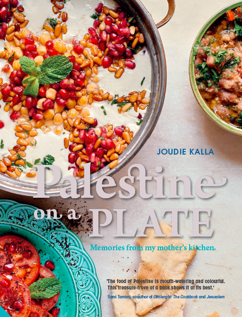 Palestine on a Plate: Memories from my mother's kitchen by Joudie Kalla (http://static1.squarespace.com/static/544fb33be4b066943bf7a38b/t/57363636c6fc0814565ed7fa/1467724880029/?format=1000w)