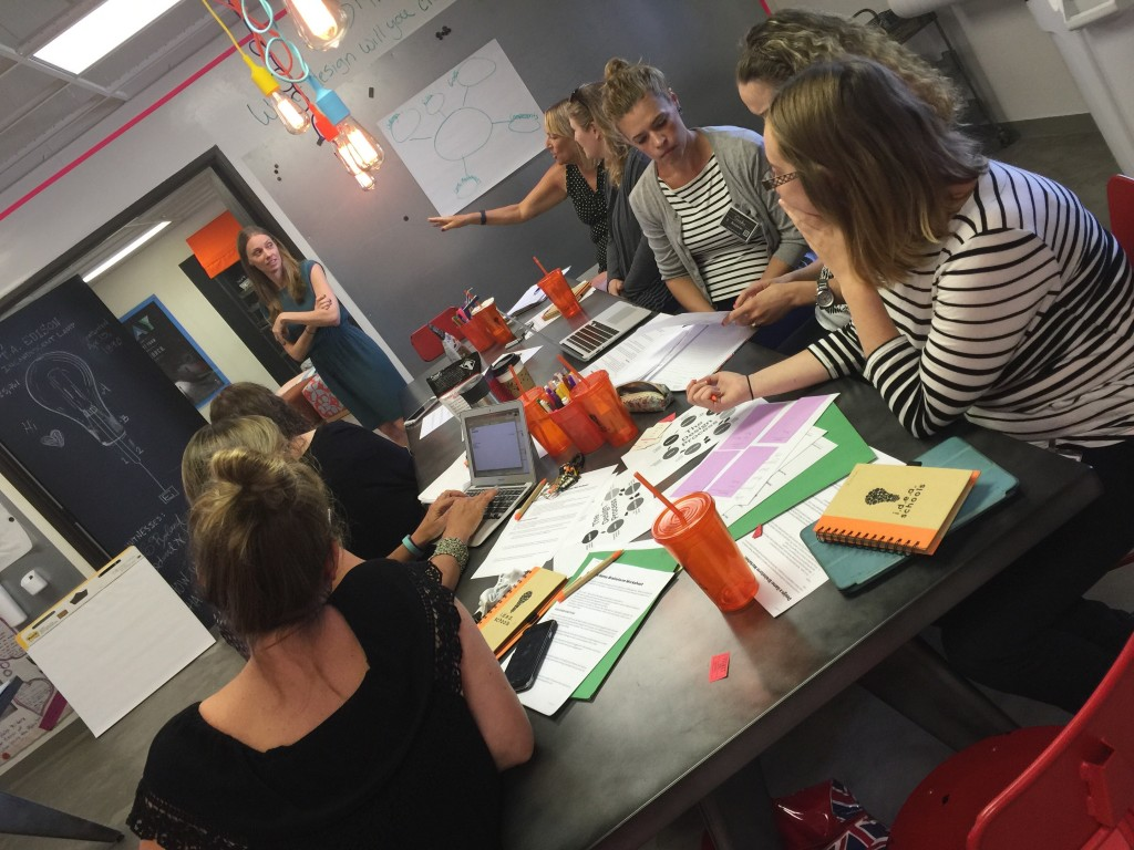 Alanna Kotler, who heads the game-based learning cohort for the AVICHAI Foundation, ran a GBL workshop in early August at the West Coast Summer Sandbox, the I.D.E.A. Schools Network project-based learning conference