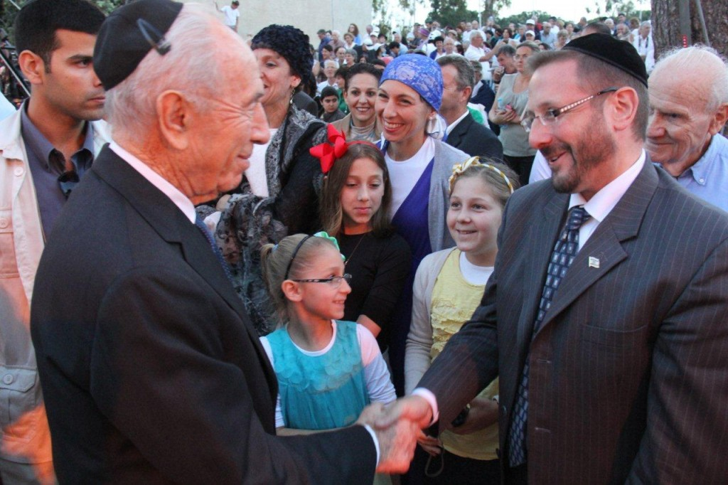 president-peres-and-dov