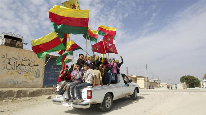 Kurdish fighters have been tightening their grip on several areas in northern Syrian in recent months [Reuters]