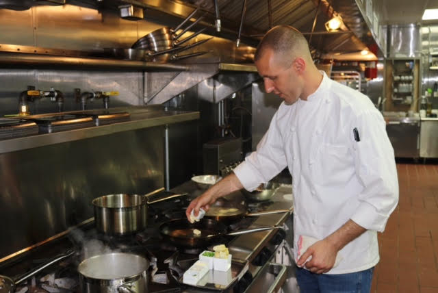Chef Moshe in his kitchen at Sixty5 on Main in Nyack