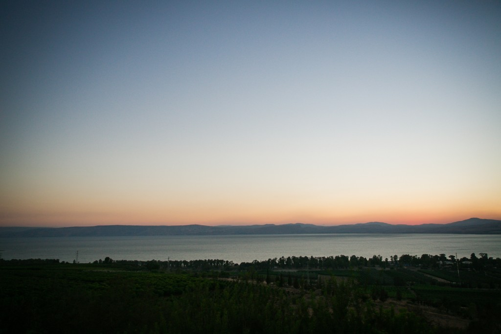 Overlooking the Sea of Galilee. (Nadav Ariel)