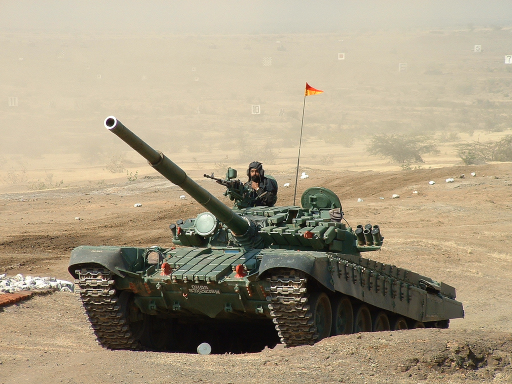 T-72 tank (Image Source - cell105, CC)