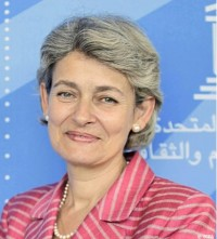 Irina Bokova, UNESCO, Director General